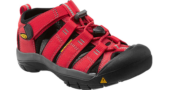 Keen Newport H2 Sandals Children Ribbon Red/Gargoyle
